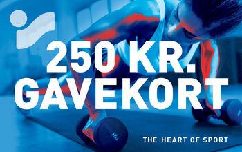 Intersport Gavekort 250kr.