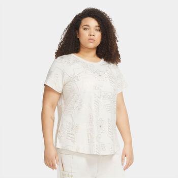 Nike Sportswear Icon Clash T-shirt Damer Hvid