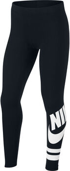 Nike Sportswear Graphic Leggings Piger Sort