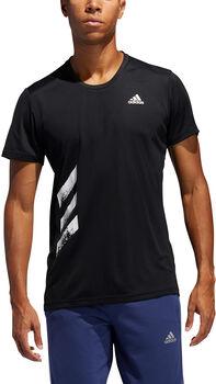 adidas Run It PB 3-Stripes T-shirt Herrer