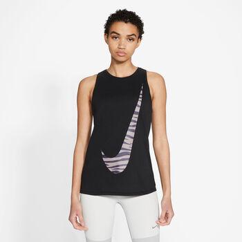 Nike Icon Clash Dri-FIT top Damer Sort