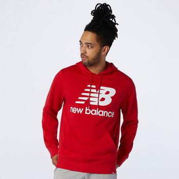 New Balance Essentials Stacked Logo hættetrøje Herrer