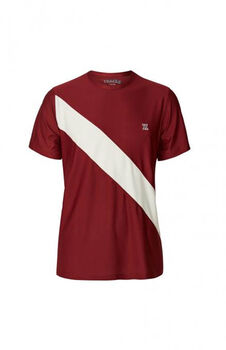 Les Deux Athletics Oslo T-shirt Herrer Rød