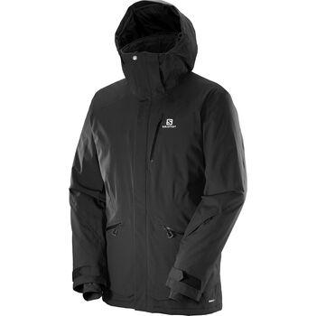 Salomon Qst Snow Jacket Herrer Sort