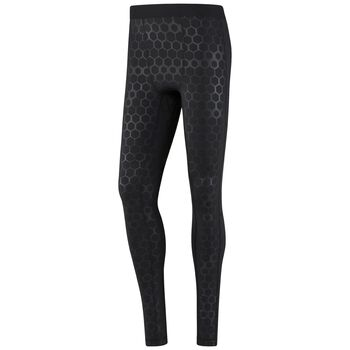 Reebok Hexawarm Reflective Tight Herrer Sort