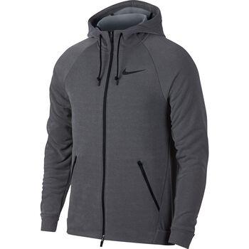 Nike Dry Hoodie Fz Hyper Fleece Herrer Grå