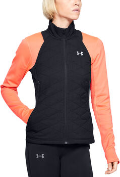 Under Armour ColdGear Reactor Run Insulated Vest Damer Sort