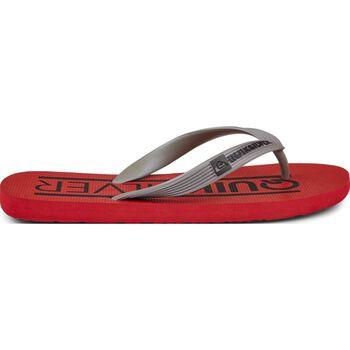 Quiksilver Java Wordmark Flip-Flops Rød
