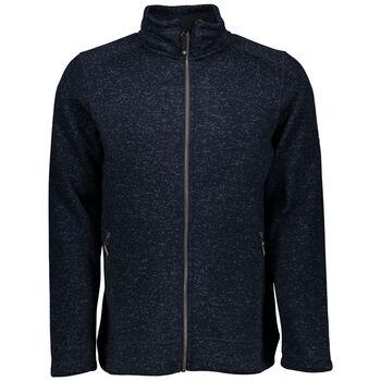 McKINLEY Rubin Knit Fleece Jacket Mænd Blå
