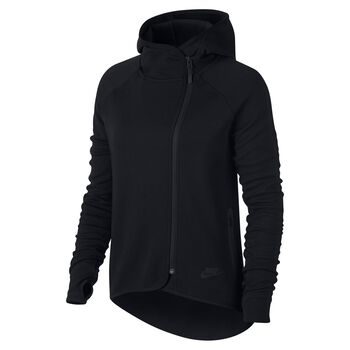 Nike Sportswear Tech Fleece Cape Kvinder Sort