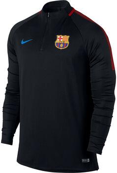 Nike Dry FC Barcelona Squad Drill Top Herrer Sort