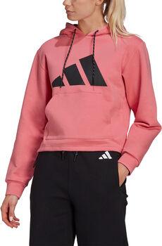 adidas Sportswear Relaxed Doubleknit hættetrøje Damer