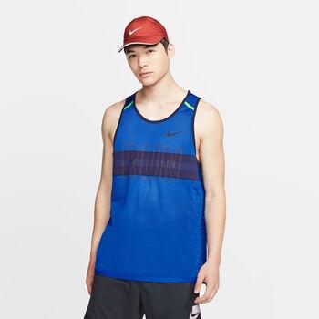 Nike Mesh Running Tank Herrer