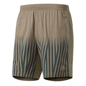 ADIDAS Supernova Graphic Shorts Herrer Gul