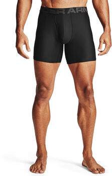 Under Armour Tech 15 cm boxershorts, 2 pak Herrer