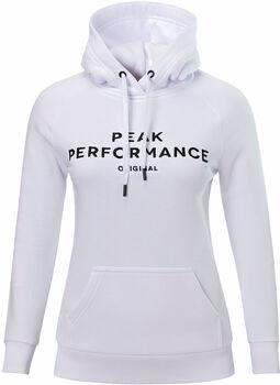 Peak Performance Logo Hood Damer
