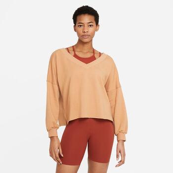 Nike Yoga Luxe fleece trøje Damer