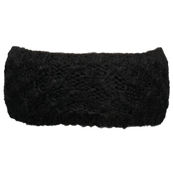 McKINLEY Malma Knit Headband Damer Sort