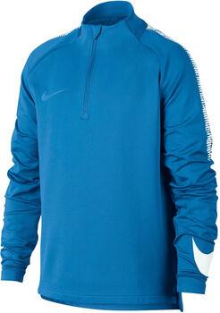 Nike Dry Squad Drill Top Blå