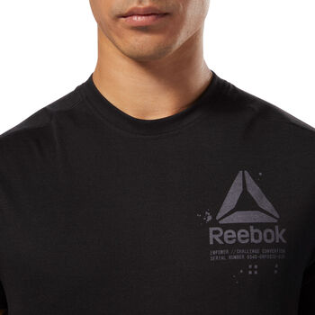 Reebok SpeedWick Graphic Tee Herrer