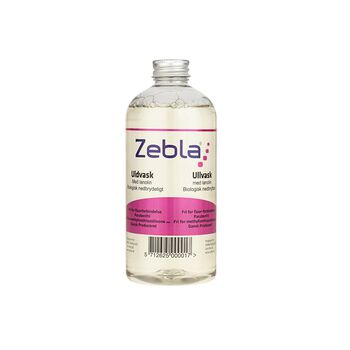 Zebla Uldvask med lanolin 500 ml Hvid