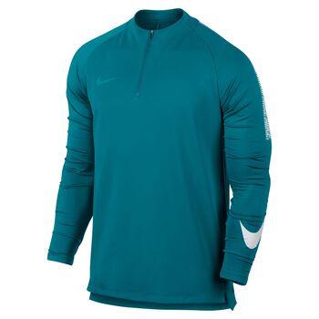 Nike Dry Squad Dril Top Herrer Blå