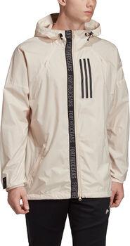 adidas W.N.D Parley Jacket Herrer Hvid