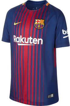 Nike FC Barcelona Home Jersey 17/18 Blå