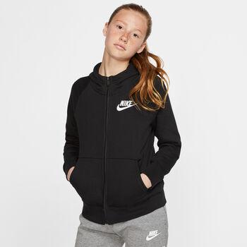 Nike Sportswear Full-Zip Hættetrøje Sort