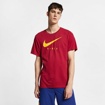 Nike F.C. Barcalona Dri-Fit Ground Tee Herrer