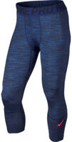 Nike Hypercool Tight Space Dye Navy - Mænd