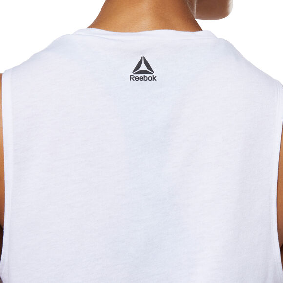 Meet You There Reebok Muscle Tank Top