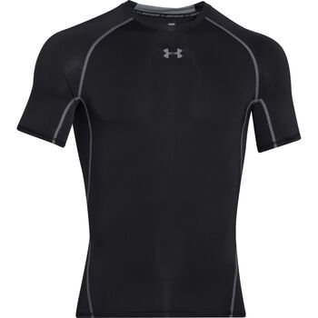 GEYSER Under Armour Heatgear SS T-shirt Mænd Sort