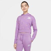 Sportswear Cropped French Terry Hættetrøje