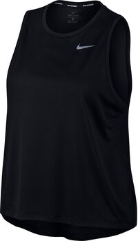 Nike Miler Running Tank (Plus Size) Damer Sort