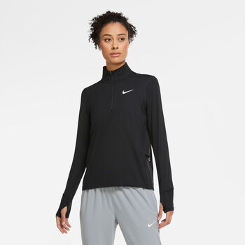 Nike Element 1/2-zip løbetrøje Damer