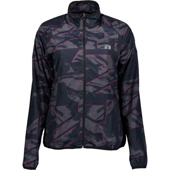 Newline Printed Thermal Jacket Damer Sort