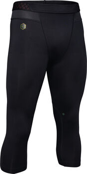Under Armour RUSH 3/4 Legging Herrer Sort