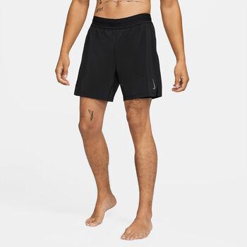 Nike Yoga 2-i-1 shorts Herrer Sort
