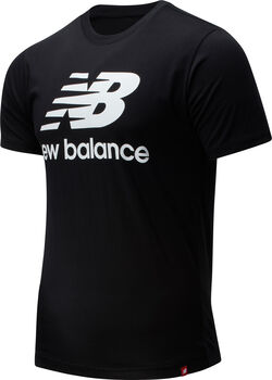 New Balance Essentials Stacked Logo T-shirt Herrer