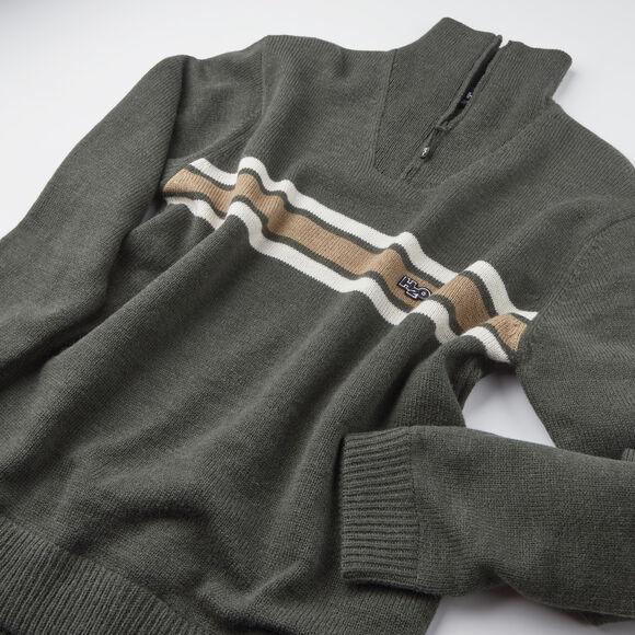 Icon Stripe Wind Knit striktrøje