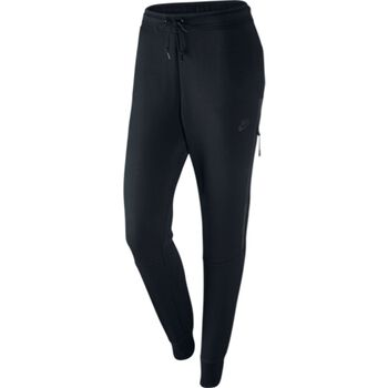 Nike Tech Fleece Pant Damer Sort