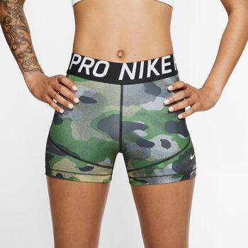 """Nike Pro 3"""" Camo Short Damer"""