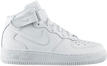 new products 665fb 2772c Nike Air Force 1 Mid GS Hvid