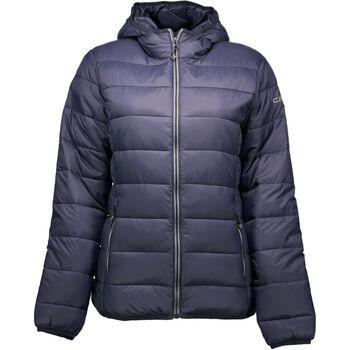 CMP Jacket Fix Hood Damer Blå