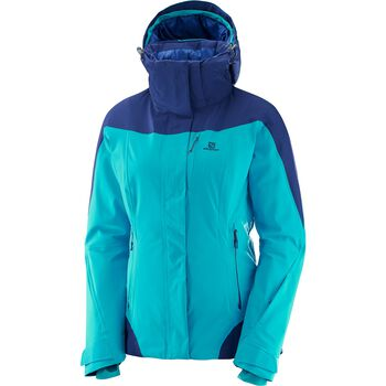 Salomon Icerocket Jacket Damer Blå