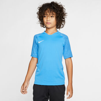 Nike Breathe Strike Big Kids' Short-Sleeve Soccer Top