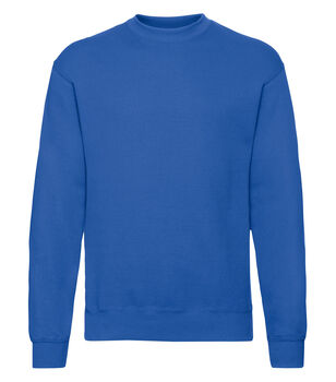 Fruit of the Loom Classic set in sweatshirt