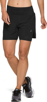 ASICS Road 2i1 Short Damer Sort