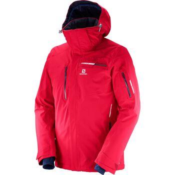 Salomon Brilliant Jacket Herrer Rød